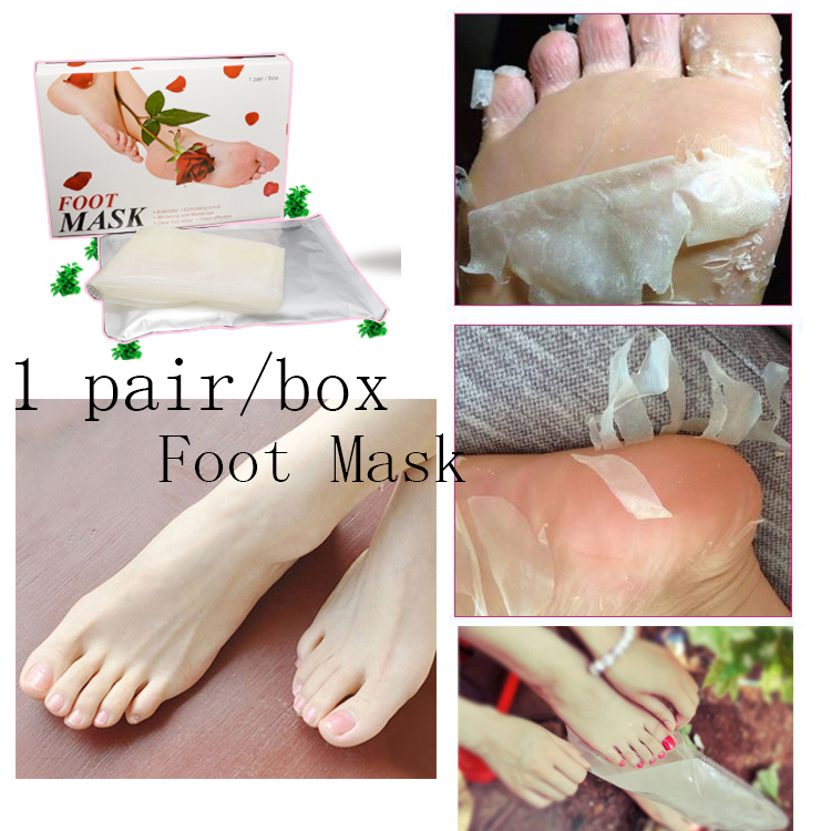1pair high quality baby foot mask peeling foot care. Black Bedroom Furniture Sets. Home Design Ideas
