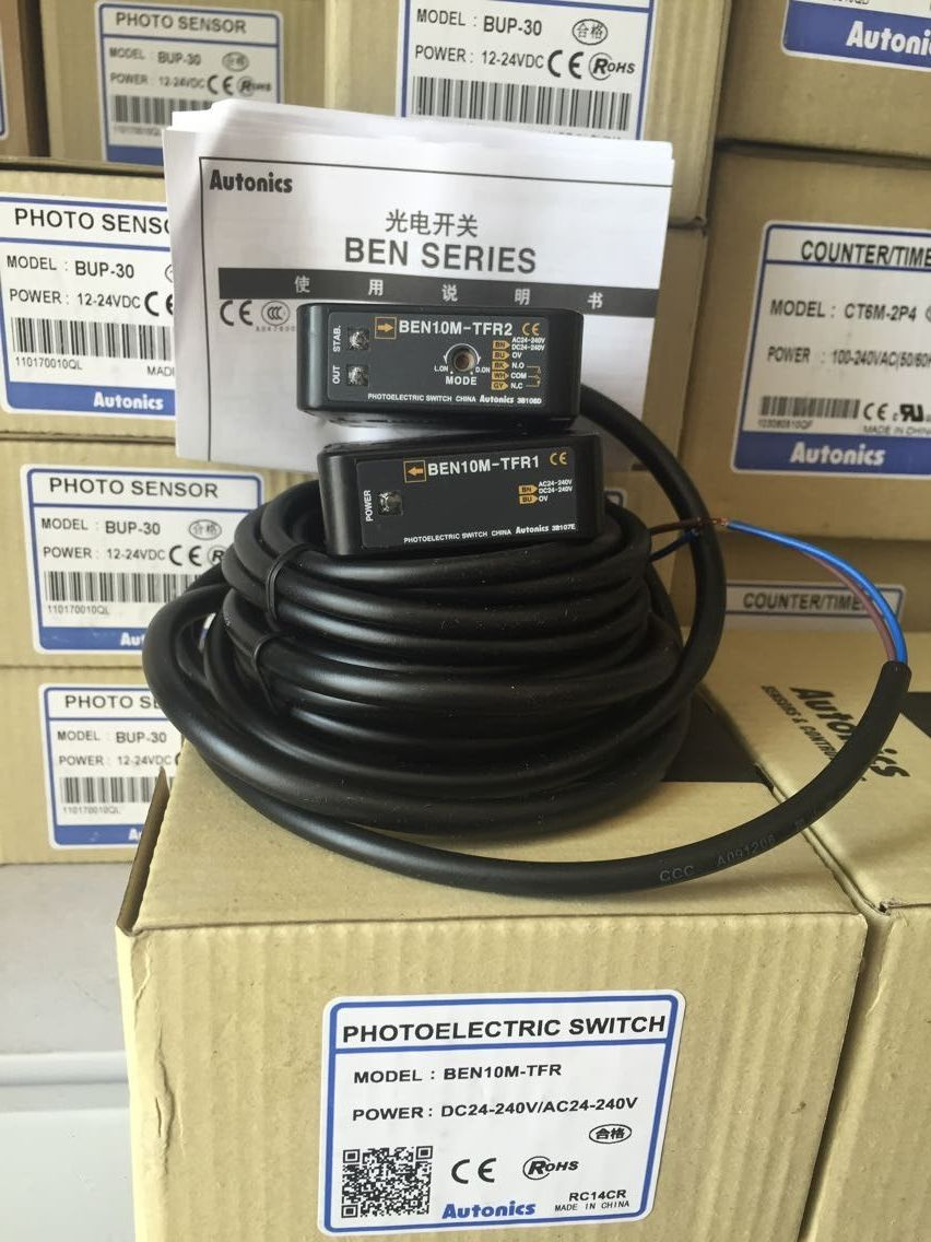 Counter-radiation Photoelectric Switch BEN10M-TFR Original Product False One Loss Ten
