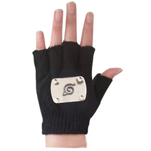 Konoha Logo Fingerless Gloves