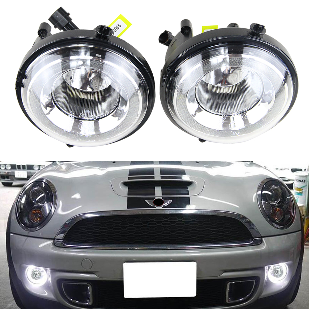 One Pair Led Daytime Running Light DRL Fog Lights For Bmw Mini Cooper R55 R56 R57