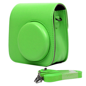 Image 2 - Besegad PU Leather Digital Camera Bag Case Cover Pouch Protector for Polaroid Fujifilm Instax Mini 9 Mini9 Instant Print Gadgets