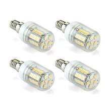 4 x 6W E14 30 LED 5050 SMD Ampoule Lampe Spot Bulb MBlanc Chaud AC 220-240V