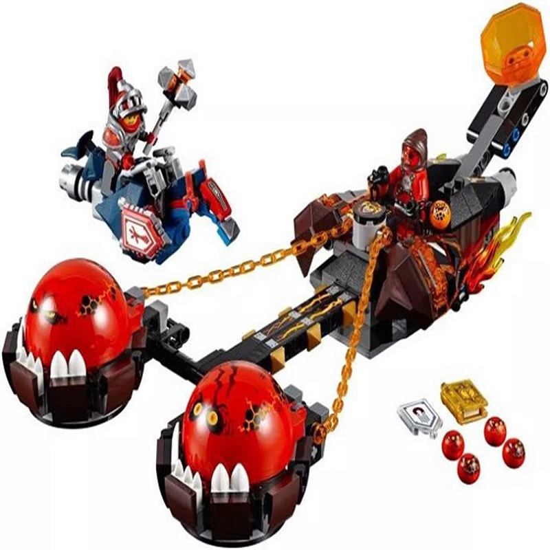 2017 New LEPIN 14004 Knight Beast Master's Chaos Chariot Building Blocks Sets Gift Toys Compatible Nexus Knights Bricks 70314 dhl new lepin 06039 1351pcs ninja samurai x desert cave chaos nya lloyd pythor building bricks blocks toys compatible 70596