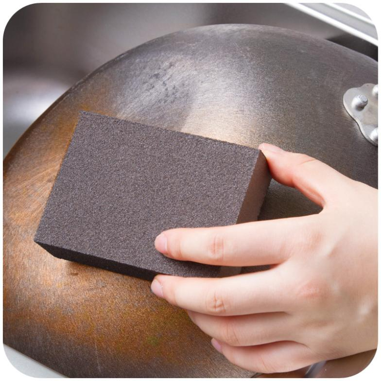 Free shipping Nano Emery magic sponge. Home supplies descaling Small cleaning sponge, removing rust magic rub K3511