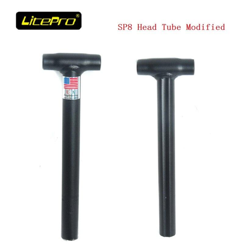 Litepro 28.6mm 30cm Folding Bike Da Hon Sp8 Head Tube Modified Double Stem Accessories