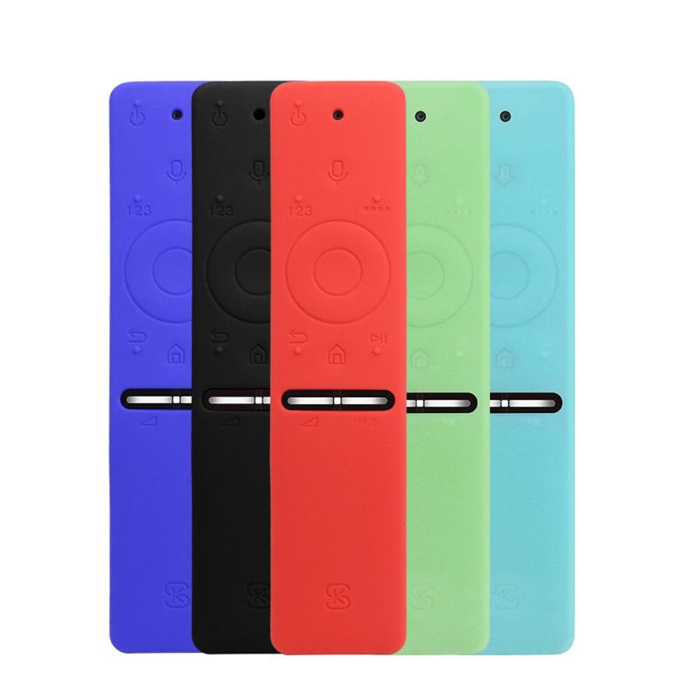 Soft Silicone TPU Protective Case Remote Colorful  Cover Case For Samsung Smart TV Voice Version Remote Control Set UA55KU6300J
