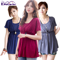 Emotion Moms Summer Maternity Clothes Nursing clothing Breastfeeding tops pregnancy clothes for Pregnant Women Maternity T-shirt