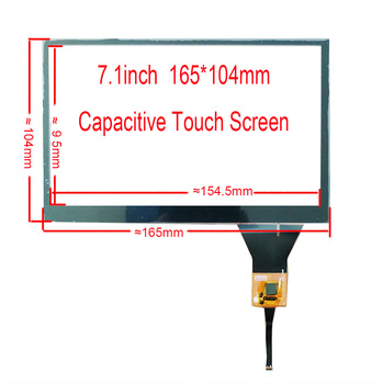 7.1inch Car Navigation Touch Screen 165*104mm With USB controller Controller Board Support Win7 8 10 Android Linux TN83 image