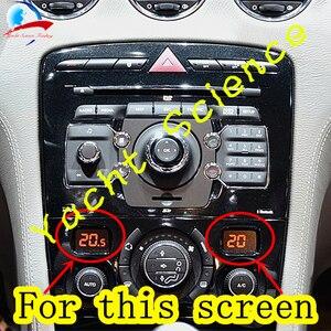 Image 3 - 1Pcs Auto Acc Lcd Panel Module Display Monitoren Pixel Reparatie Airconditioning Informatie Screen Voor Peugeot 408 308 308CC
