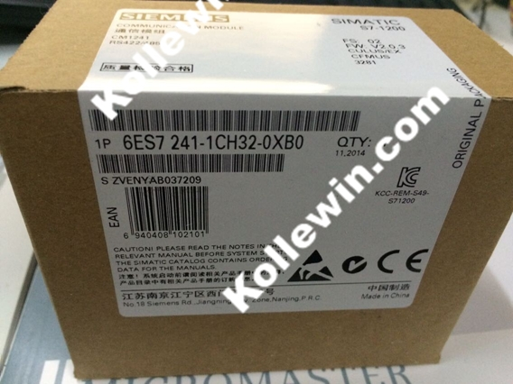 Freeship Original SIMATIC S7-1200 Communication Module 6ES7241-1CH32-0XB0 CM1241 RS422/485, 6ES7 241-1CH32-0XB0 6ES72411CH320XB0 freeship original simatic s7 1200 plc communication module 6es7241 1ah32 0xb0 cm1241 rs232 6es7 241 1ah32 0xb0 6es72411ah320xb0