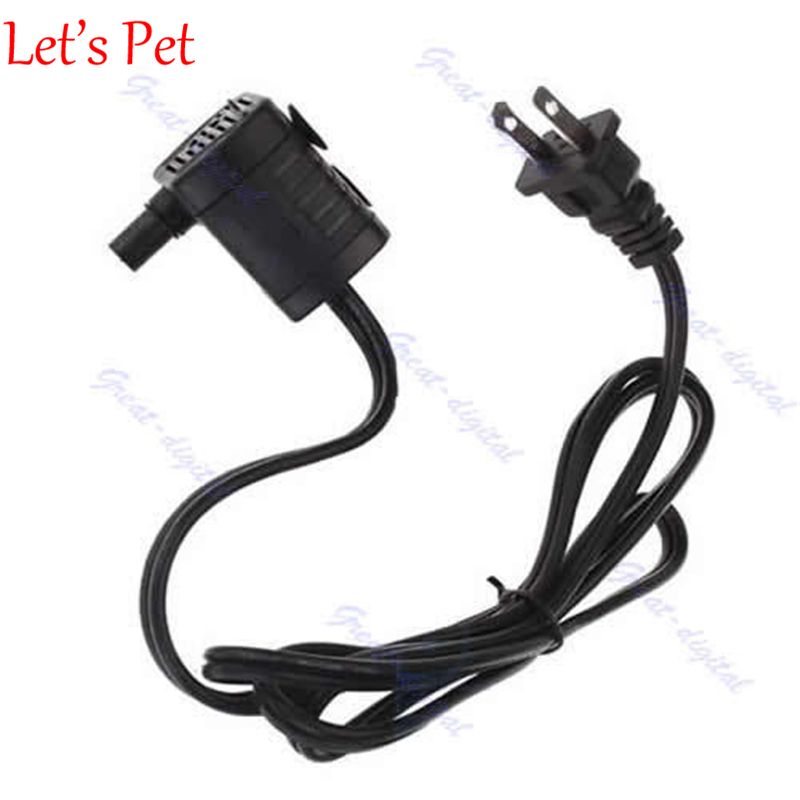 Pet Product Submersible <font><b>Water</b></font> <font><b>Pump</b></font> Aquarium Hydroponic for Aquarium Rockery Fountain Fish Pond Tank AC <font><b>110V</b></font> 3W US Plug NEW image