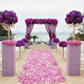 2000 Pcs Silk Rose Petals Petalas de Rosa Artificial Flower Wedding Favor and Gift wedding Accessories Party wedding decor