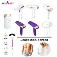 Lescolton IPL Laser Hair Removal Device Permanent Bikini Trimmer Laser Epilator for Women Men Facial Armpit Bikini Beard Legs