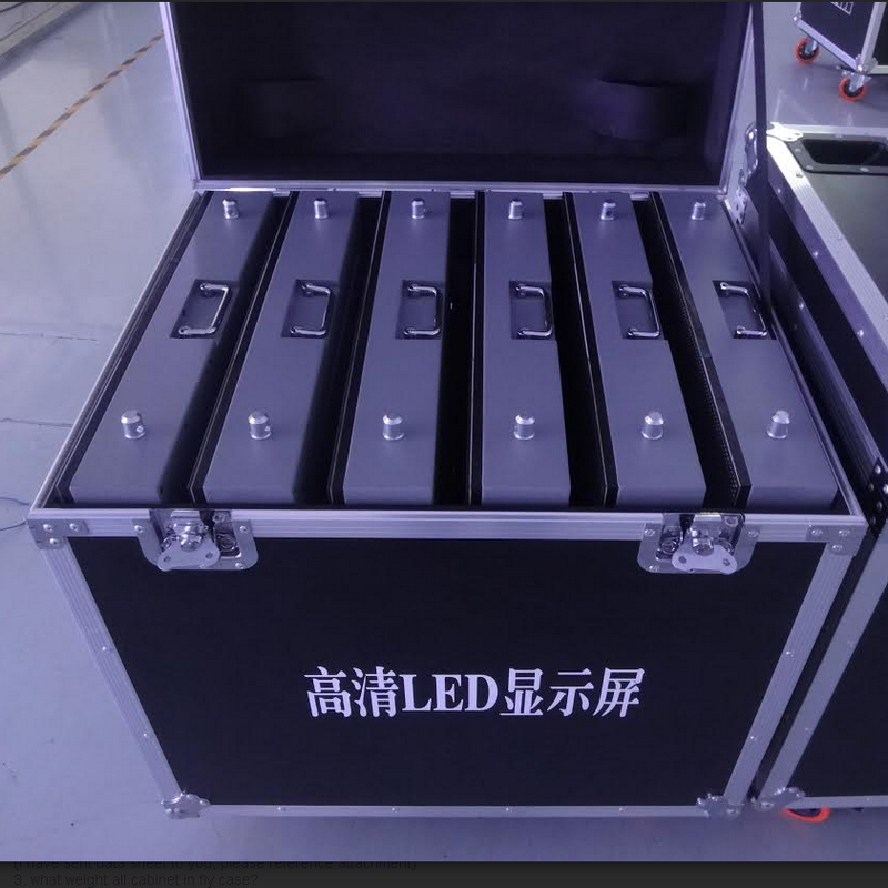 LED DISPLAY FLIGHT CASE, Aluminum Material, Best For Rental Display Package