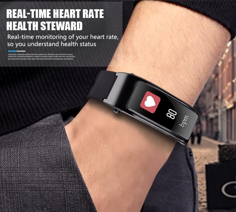 Купить умный фитнес браслет с поддержкой bluetooth