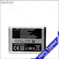 1000mAh AB553446BU for Samsung B2100 C3300 Xplorer B100 SCH-B619 C3300K C5212 Duos C5212i C5130 1000mAh Battery