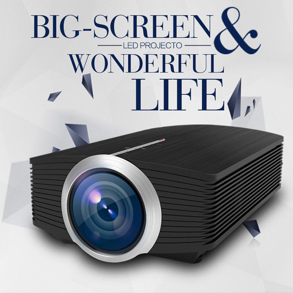 YG500 Mini Projector 1080P 1200 Lumen Draagbare LCD Huis Projector USB HDMI VGA AV 3D LED Multimedia Scherm Beamer cinema Theater - 5