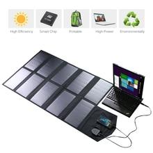 ALLPOWERS 18 V 60 W Cargador de Panel Solar Plegable Portable Impermeable Al Aire Libre de Carga de Batería Solar para el Ordenador Portátil y el Teléfono.