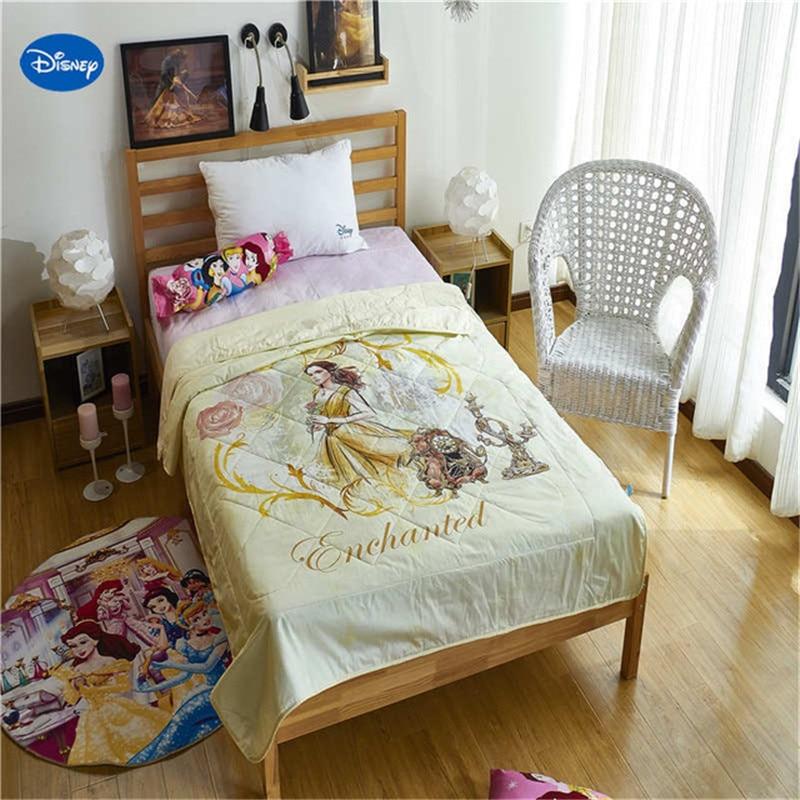Disney Belle et bête Belle couverture couette élégant européen patchwork mode combinaison/couvre-lit couette/couette d'été