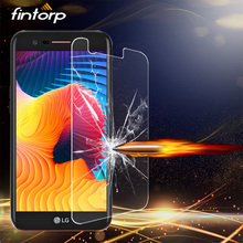 цена на Fintorp Tempered Glass For LG K10 K7 K4 2017 K8 2018 K5 Screen Protector For LG Nexus 5 5X Magna Protective Film Glass Guard
