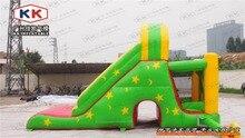 Популярный и Привлекательный Надувные надувной дом с горкой inflable bouner высокое качество открытый надувные игрушки, надувные combo