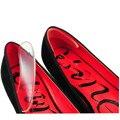 Venda quente 1 Par Mulheres Moda Silicone plantillas gel protetor de Calcanhar Sapatos palmilhas ortopédicas palmilha Transporte Rápido