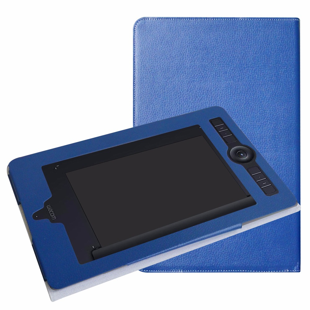 Case For Wacom Intuos Pro Paper Medium PTH660P Protective Sleeve PU Leather with Elastic closure