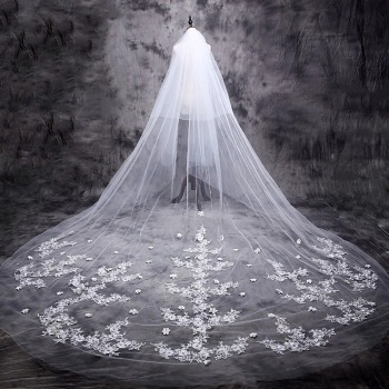 cathedral veil two layers wedding veils cheap bridal veils custom wedding veil tulle in stock wedding veils