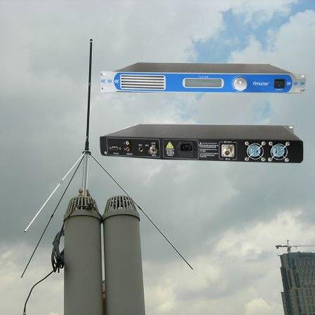 FU-30C 30 Вт FSN-301 PLL Профессиональные FM передатчик возбудителя 1U 87-108 МГц GP100 1/4 волны Профессиональный GP Антенна 26ft. кабель КОМПЛЕКТ