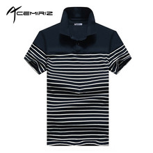 ACEMIRIZ Stripe Polo Shirts Men 2017 New Short Sleeve Striped Polo Shirts For Men Summer Turn