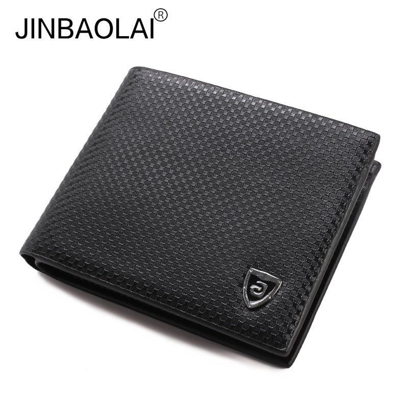 Wallets Purses Coin-Pocket Fashion Famous-Brand Dot Classic Men with for Cartera Gift
