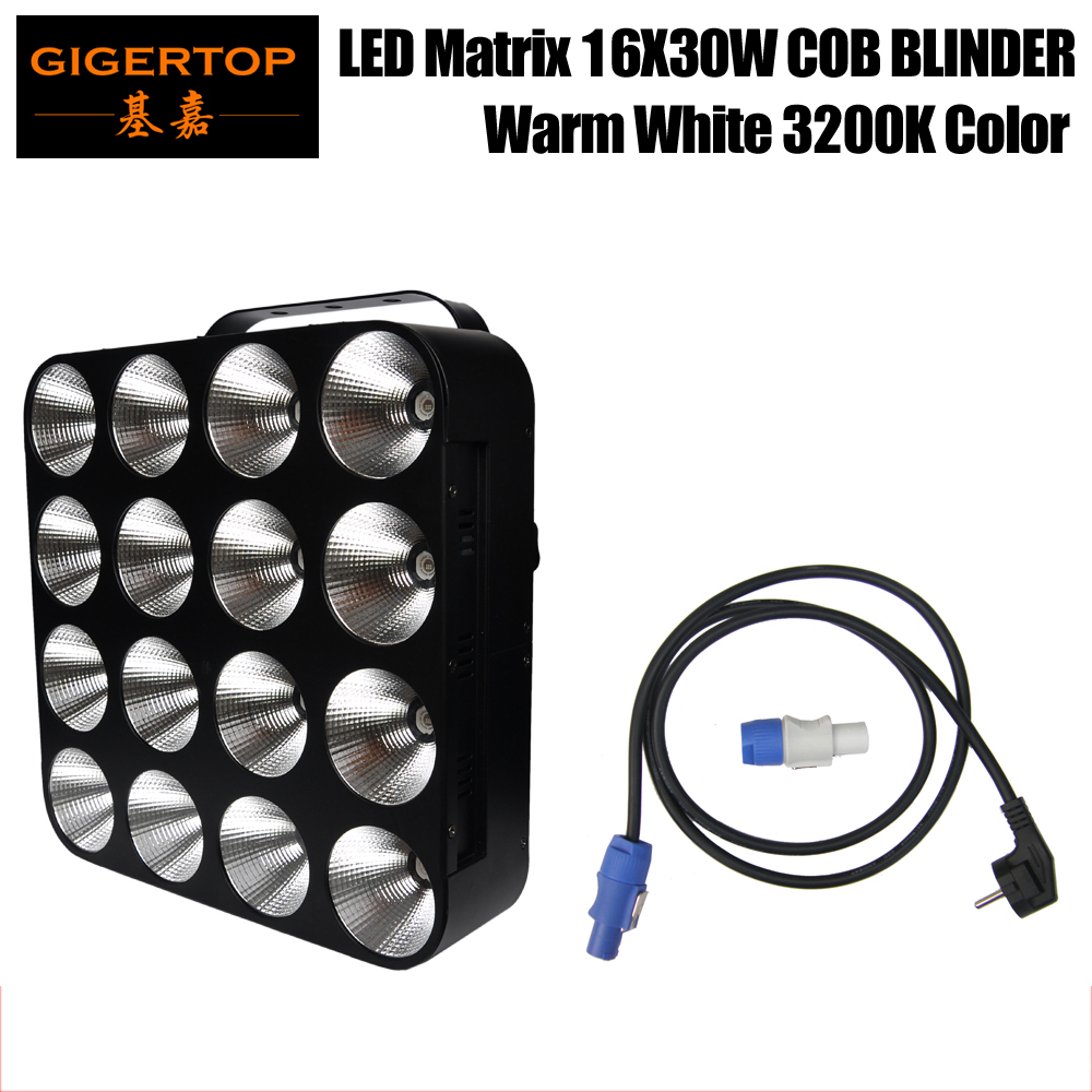 Free Shipping Warm White American DJ DOTZ MATRIX 32/16/12/3 DMX Channel Mode LED Wash/Blinder Panel Light Fixture Led Individual free shipping 10pcs stb19nf20 19n20 to 263 n channel enhancement mode mosfet