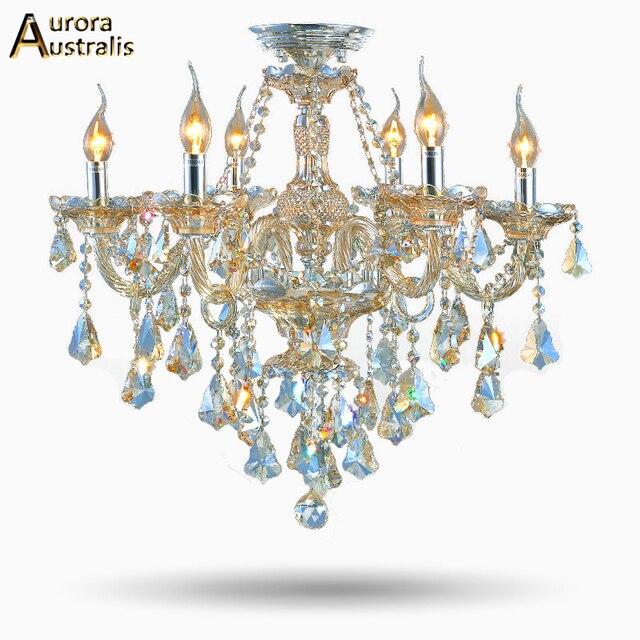 US $218.8  Neue Moderne Led kristall kronleuchter 8 Lichter Mode Kristall  Kronleuchter Lampen Wohnzimmer Kronleuchter Günstige Kristall Kronleuchter  ...