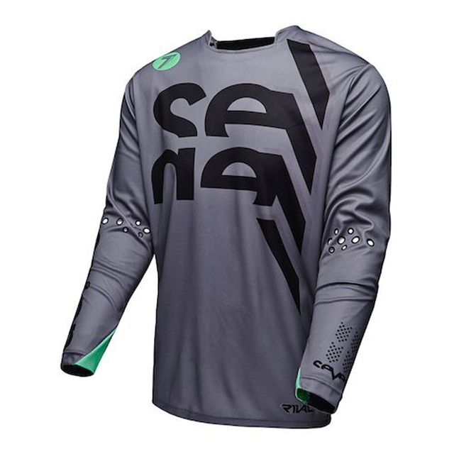 2018 New SEVEN Men s DH MX Downhill motocross racing jersey motorcycle moto  long sleeve off-road jersey Polyester bike jersey e1e966662