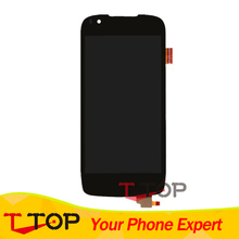 For Fly IQ4405 Quad Evo Chic 1 LCD Display Touch Screen Digitizer Assembly 1PC/Lot