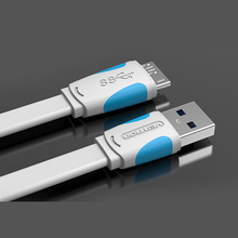 1M/1.5M/2M Fast Speed USB 3.0 Type A to Micro B Cable USB3.0 Data Sync Cord for External Hard Drive Disk HDD for Samsung  Note3