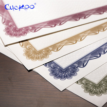 Printing-Paper Copy A4 CUCKOO for Reward 1pcs Typesetting Shading-And-Frame DIY Retro