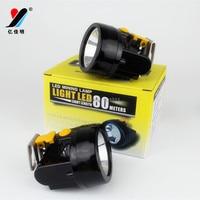 Led Cap Headlight Rechargeable Battery 18650 Headlamp Waterproof Fishing Light Moving Head Lights 5W T6 10000Lumen 3000Mah