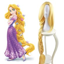 Tangled Princess Rapunzel Cosplay Adult Womens Long Braids Blonde 39  Extra Long Hair Halloween Carnival Costume Accessories  sc 1 st  AliExpress.com & Popular Adult Rapunzel Costume-Buy Cheap Adult Rapunzel Costume lots ...