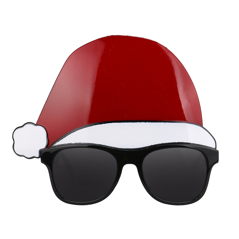2017 New Arrival Creative Funny Christmas Cap Glasses Fancy Dress Party Decoration Costume Toy For Children Having Fun Drop Ship
