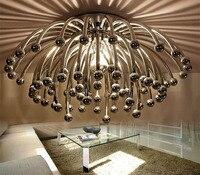 Kreative Kronleuchter lüster de teto D42 D60 Decke Kronleuchter Treppen Licht LED Flush Decke Kronleuchter Licht Lüster de teto