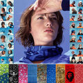 Free DHL Wholesale Style 1-300 Seamless Magic Scarf Multifunctional Bandana Muffler Unise Scarves Magic Wrap Tube Mask Cap