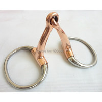 Stainless Steel Eggbutt Bit Horse Bit Horse Product Copper Jointed Mouth H0837