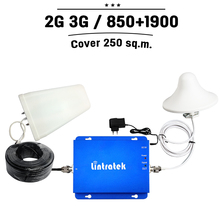 For USA Canada Mexico GSM 850mhz PCS 1900mhz Dual Band Cell Phone Signal Booster CDMA 850 PCS 1900 Moble Repeater Amplifier