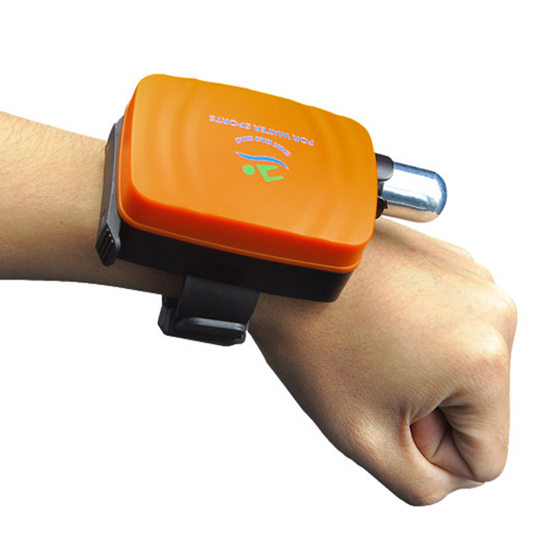 Portable Anti Drowning Lifesaving Bracelet Float Swimming Safety Wristband With Co2 Cylinder Inflatable Outdoor Swim Self RescuePortable Anti Drowning Lifesaving Bracelet Float Swimming Safety Wristband With Co2 Cylinder Inflatable Outdoor Swim Self Rescue