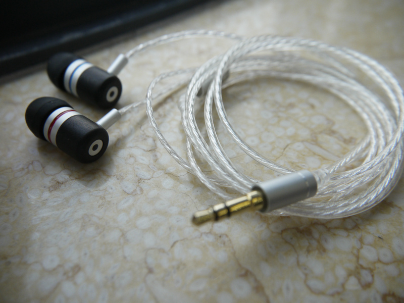 DIY IE800 earphone 5N silver plated wire Macassar Ebony shell diy earphone wooden shell silver plated furukawa teflon wire