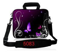 Purple Butterfly Laptop Shoulder Bag Sleeve 14 15 6 Inch Notebook Bag 13 3 For MacBook