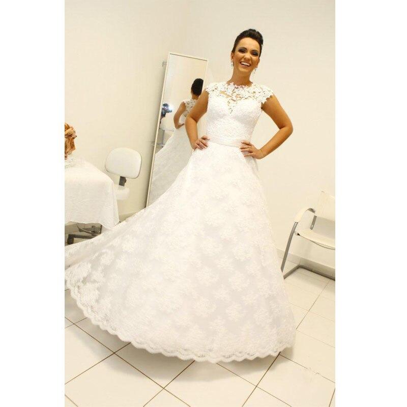2015 Vintage Ball Gown Wedding Dresses High Neck