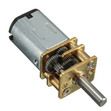 DC 6V 30RPM Micro Speed Reduction Gear Motor with Metal Gearbox Wheel 3mm Shaft Best Price
