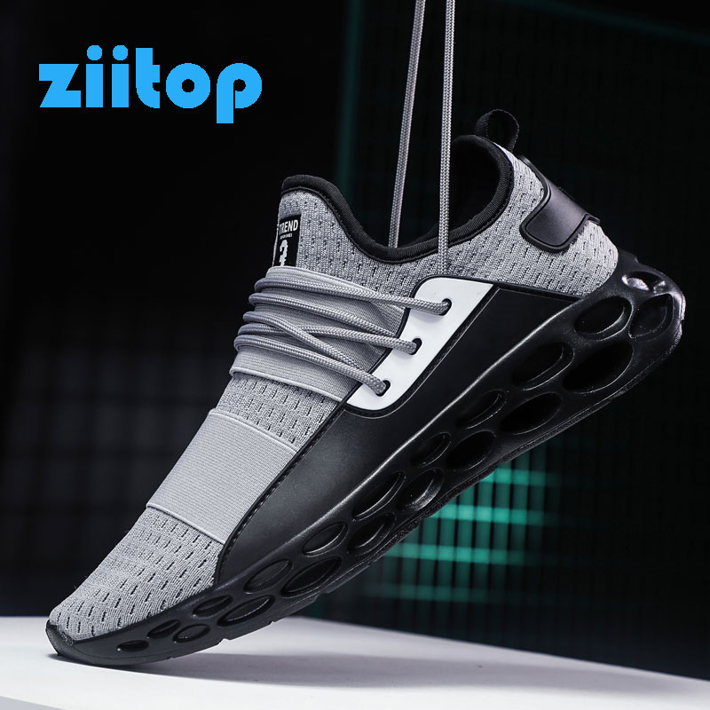 Men Running Shoes Hollow Sole Men Footwear Breathable Jogging Trainers Male Sneakers Men Athletic Sport Shoes Zapatos De Hombre цена